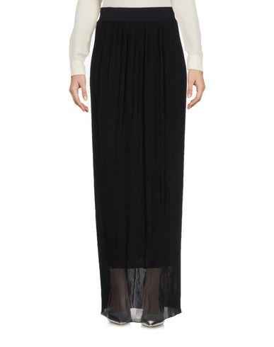 SI-JAY Damen Maxirock Schwarz Größe 34 100% Polyester