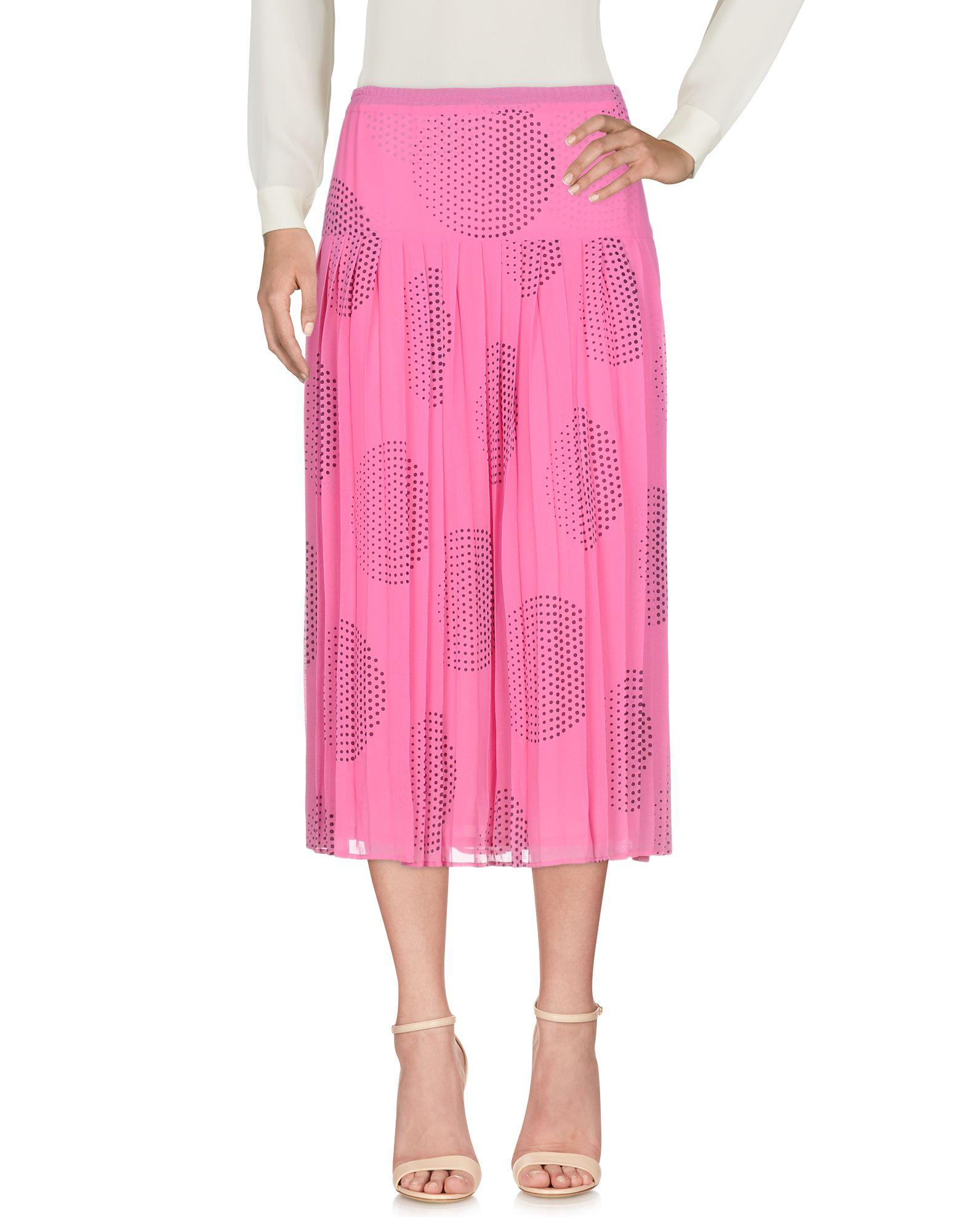 《セール開催中》MARTA PALMIERI レディース 7分丈スカート フューシャ 42 ナイロン 100%