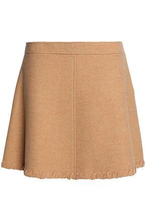 SEE BY CHLOÉ Wool-blend mini skirt