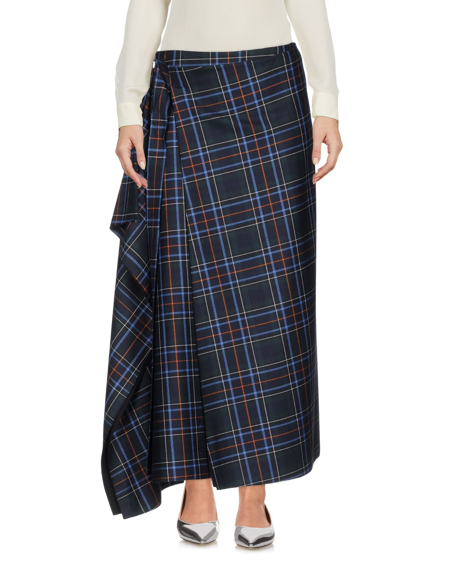 CEDRIC CHARLIER Длинная юбка cedric charlier юбка–карандаш