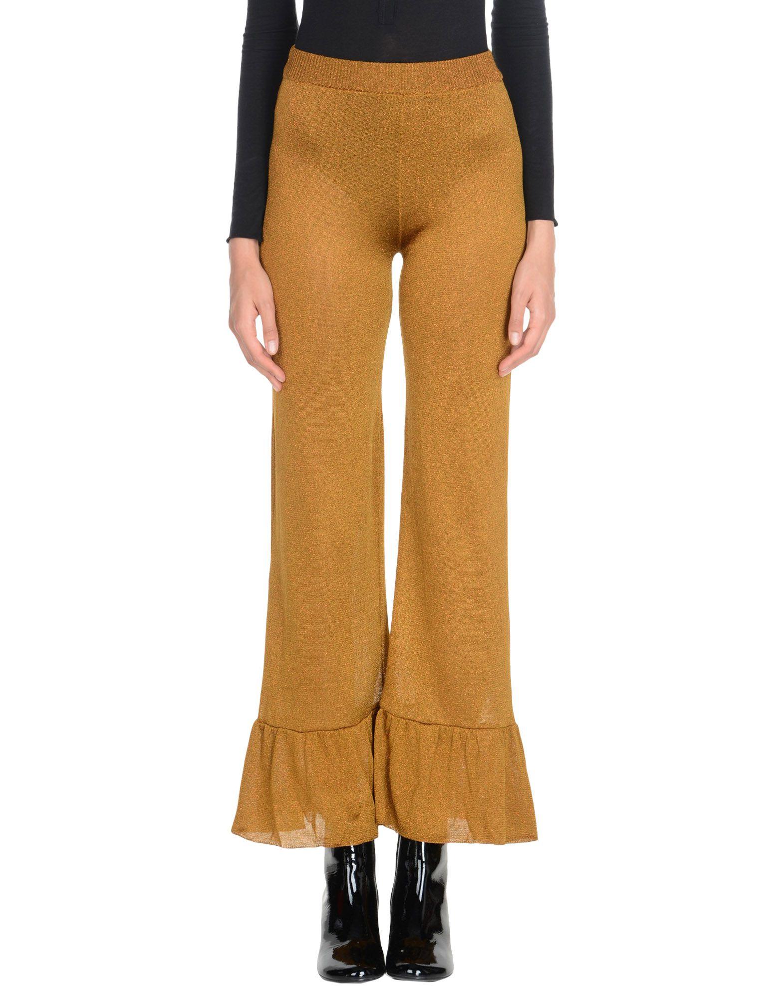D'ENIA Casual Pants in Brown