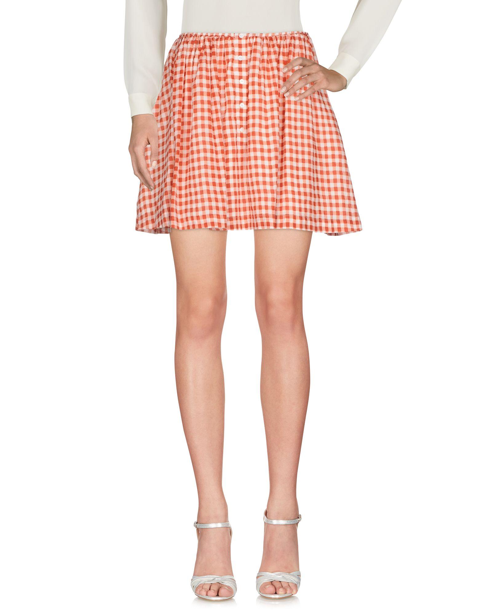AMERICAN VINTAGE Мини-юбка american retro мини юбка