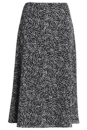 BAILEY 44 Printed crepe midi skirt