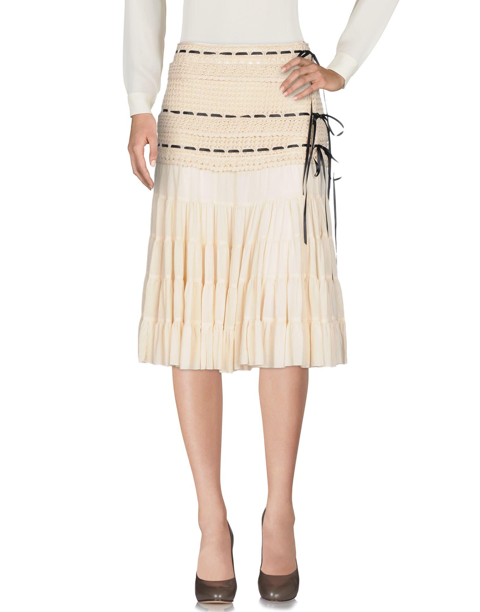 BLUMARINE Юбка длиной 3/4 moschino couture юбка длиной 3 4