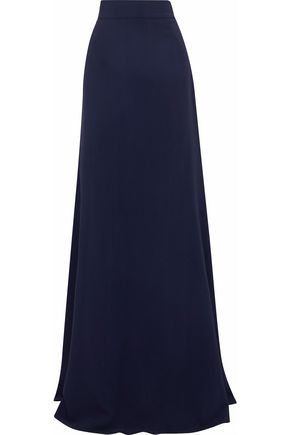 ANTONIO BERARDI Fluted cady maxi skirt