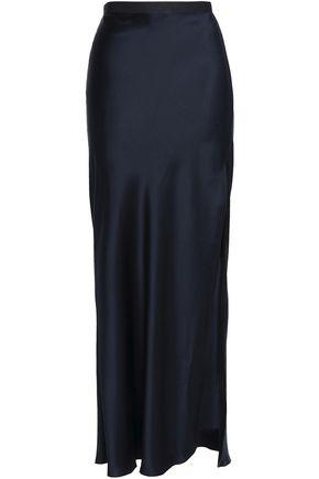 NILI LOTAN Maya silk-satin maxi skirt