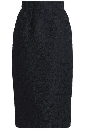 DOLCE & GABBANA Cloqué pencil skirt