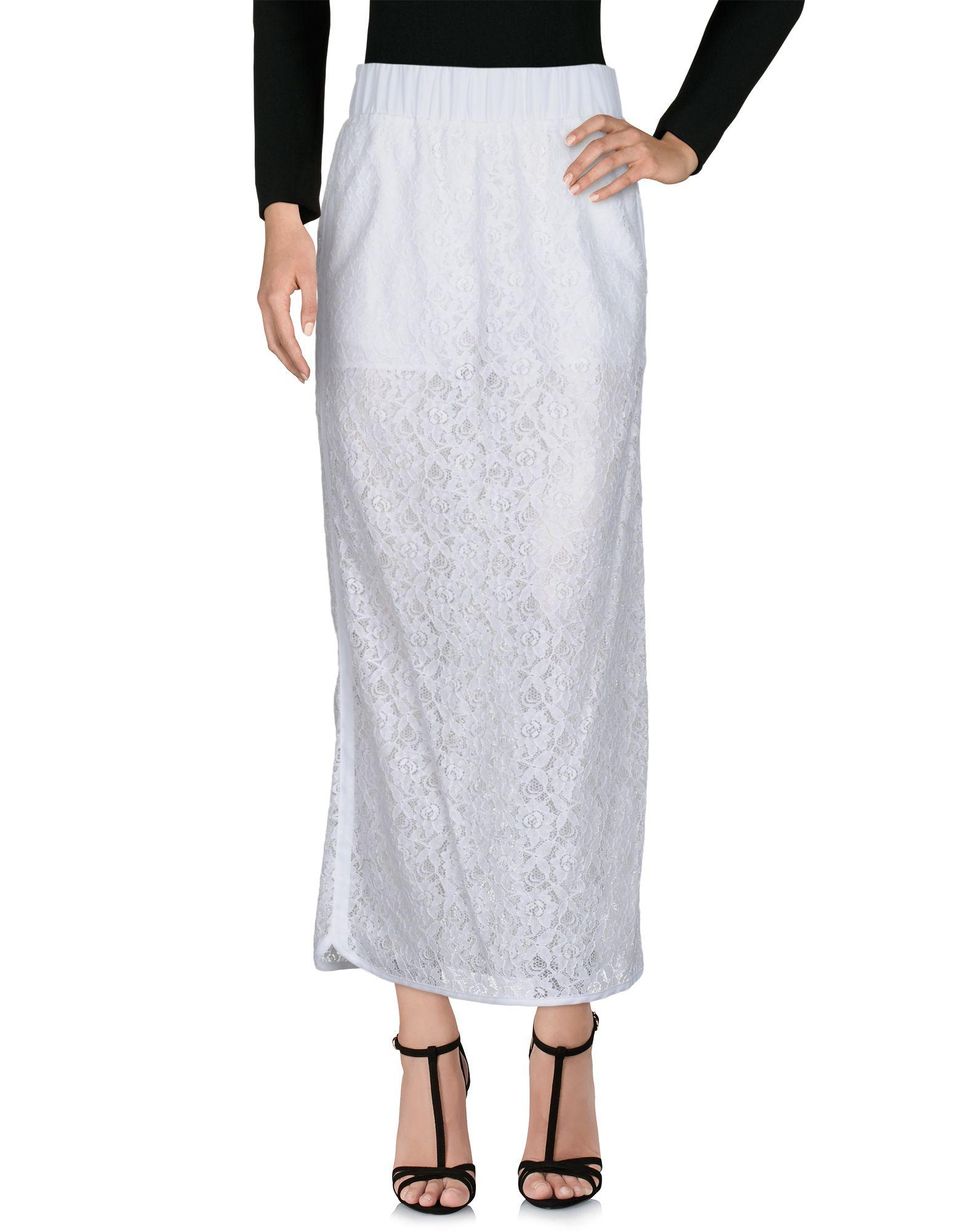 VIOLET ATOS LOMBARDINI Длинная юбка violet atos lombardini юбка длиной 3 4
