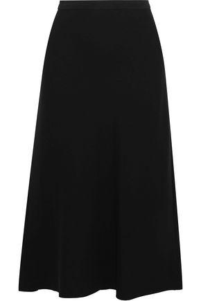 VINCE. Flared cady midi skirt