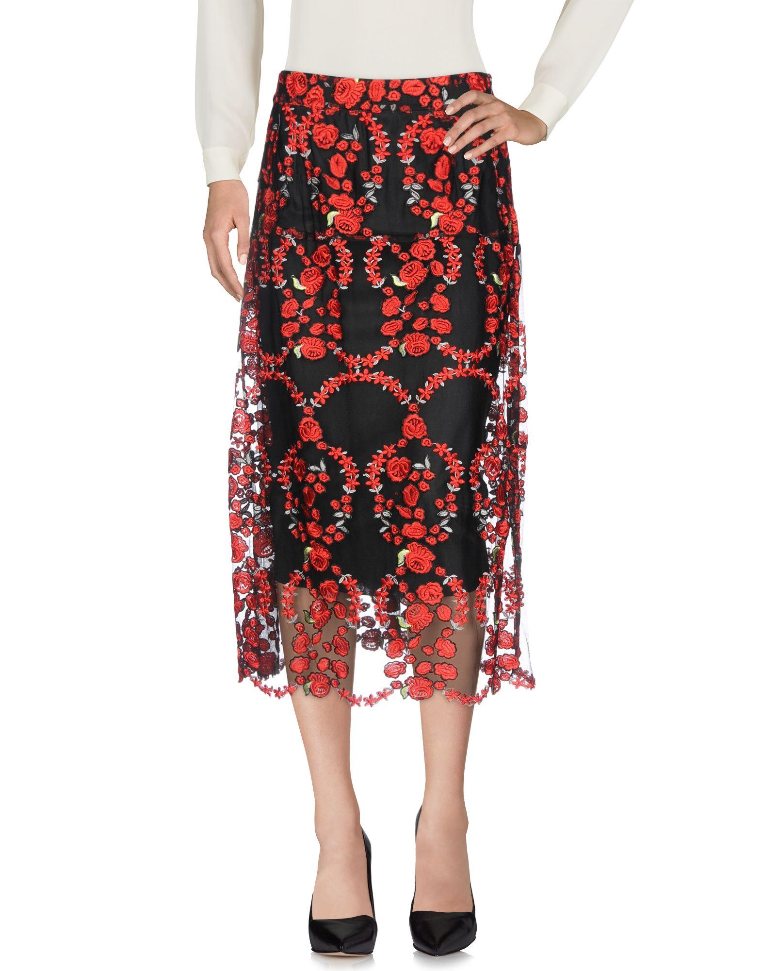 CRISTINA ROCCA Юбка длиной 3/4 cristina rocca длинная юбка