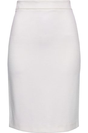 GIORGIO ARMANI Stretch-knit skirt