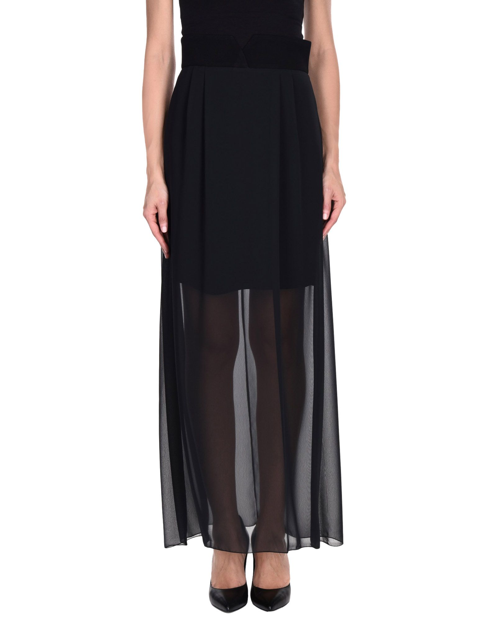 ALEX VIDAL Длинная юбка alex vidal юбка длиной 3 4