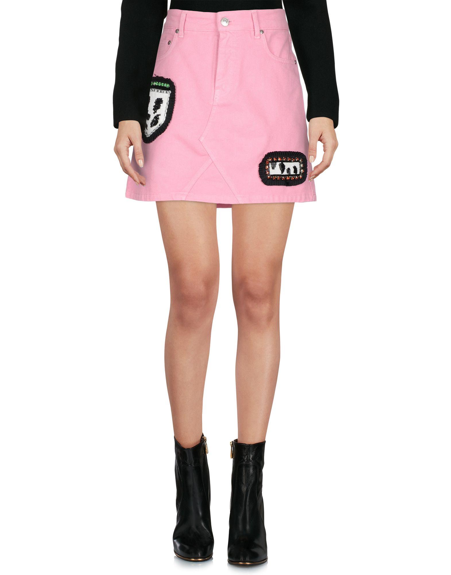 MSGM Мини-юбка юбка msgm юбка