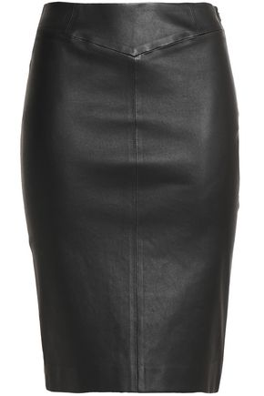 JOSEPH Claire leather skirt