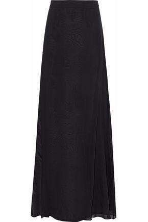 LANVIN Silk-chiffon maxi skirt