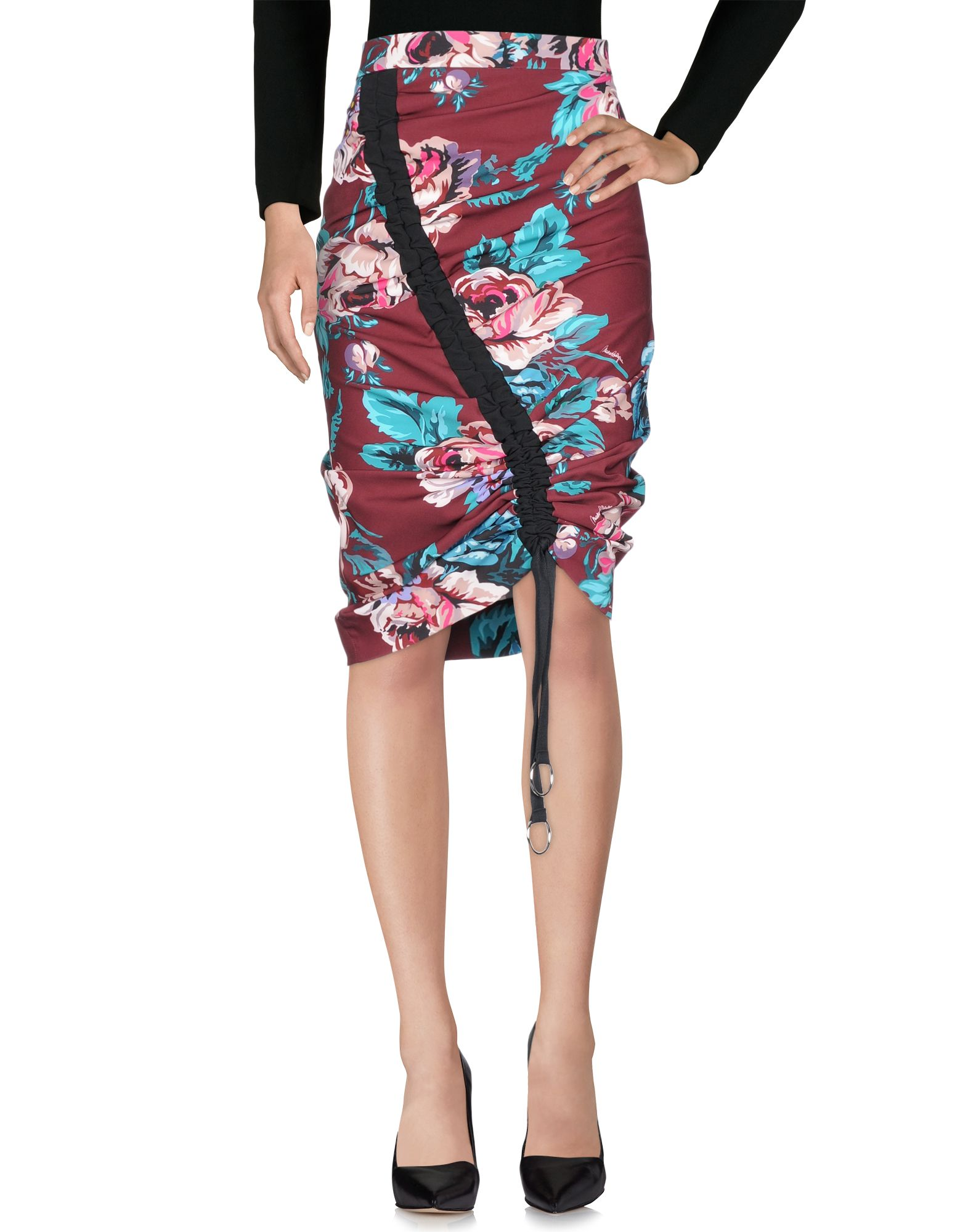 MARCO BOLOGNA Юбка длиной 3/4 moschino couture юбка длиной 3 4