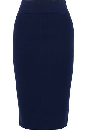 MILLY Ponte pencil skirt