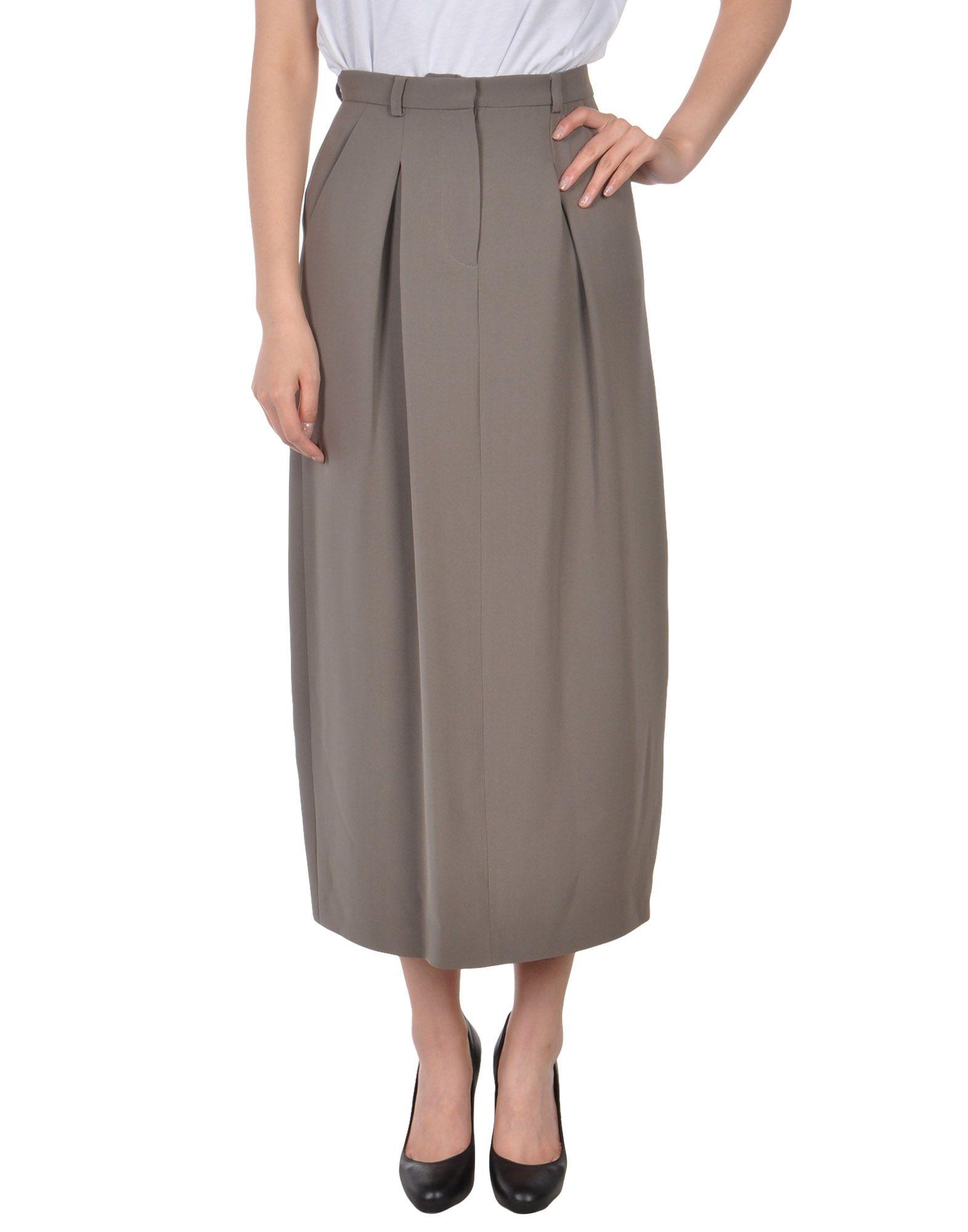 GIORGIO ARMANI Юбка длиной 3/4 armani collezioni юбка длиной 3 4