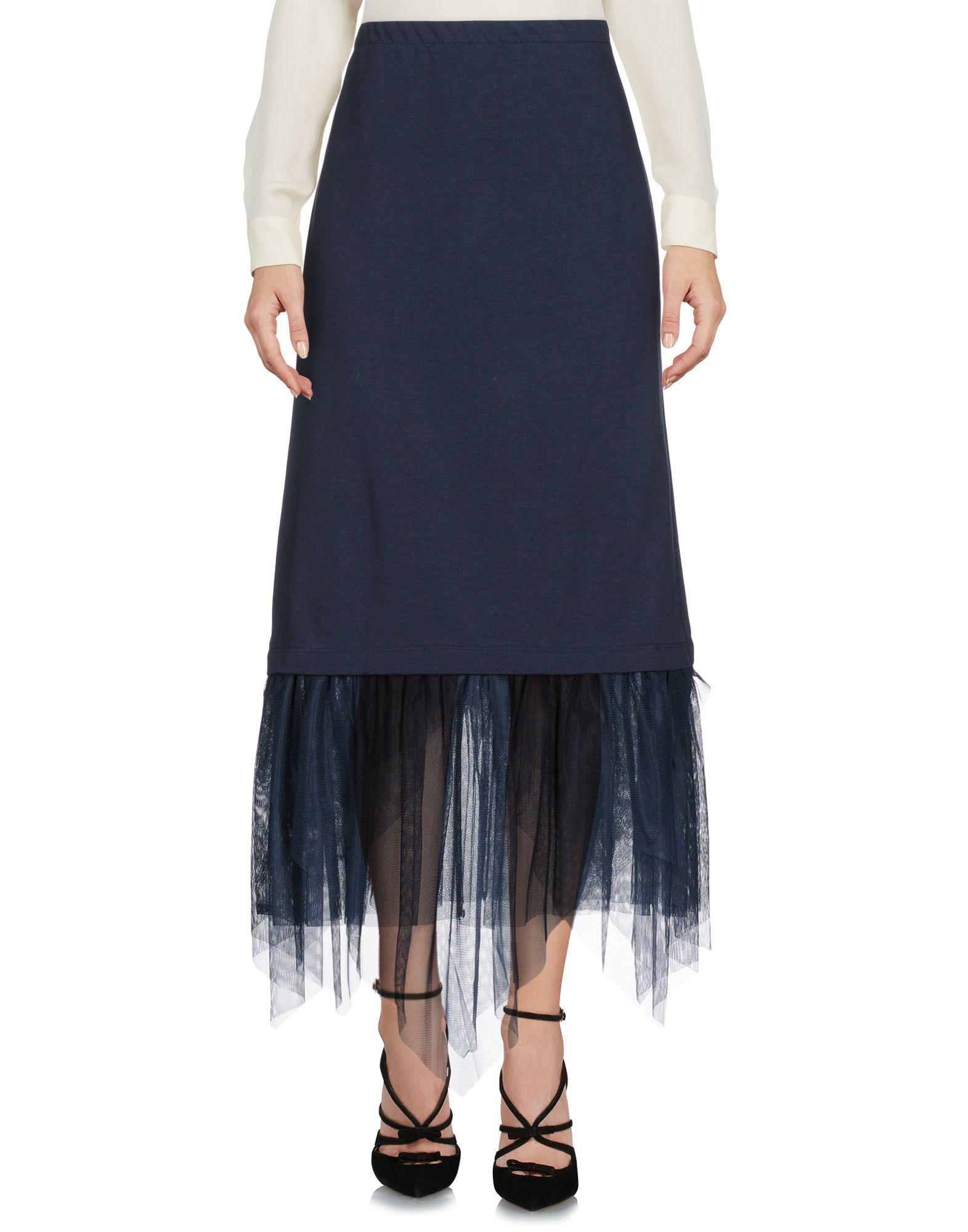 KAOS Юбка длиной 3/4 moschino couture юбка длиной 3 4