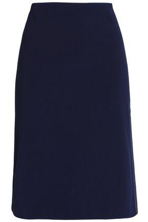 BY MALENE BIRGER Satin-trimmed crepe skirt