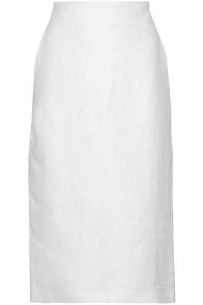 MAX MARA Orata linen skirt