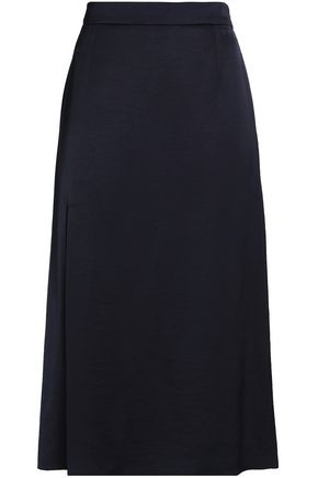 LANVIN Satin-crepe skirt