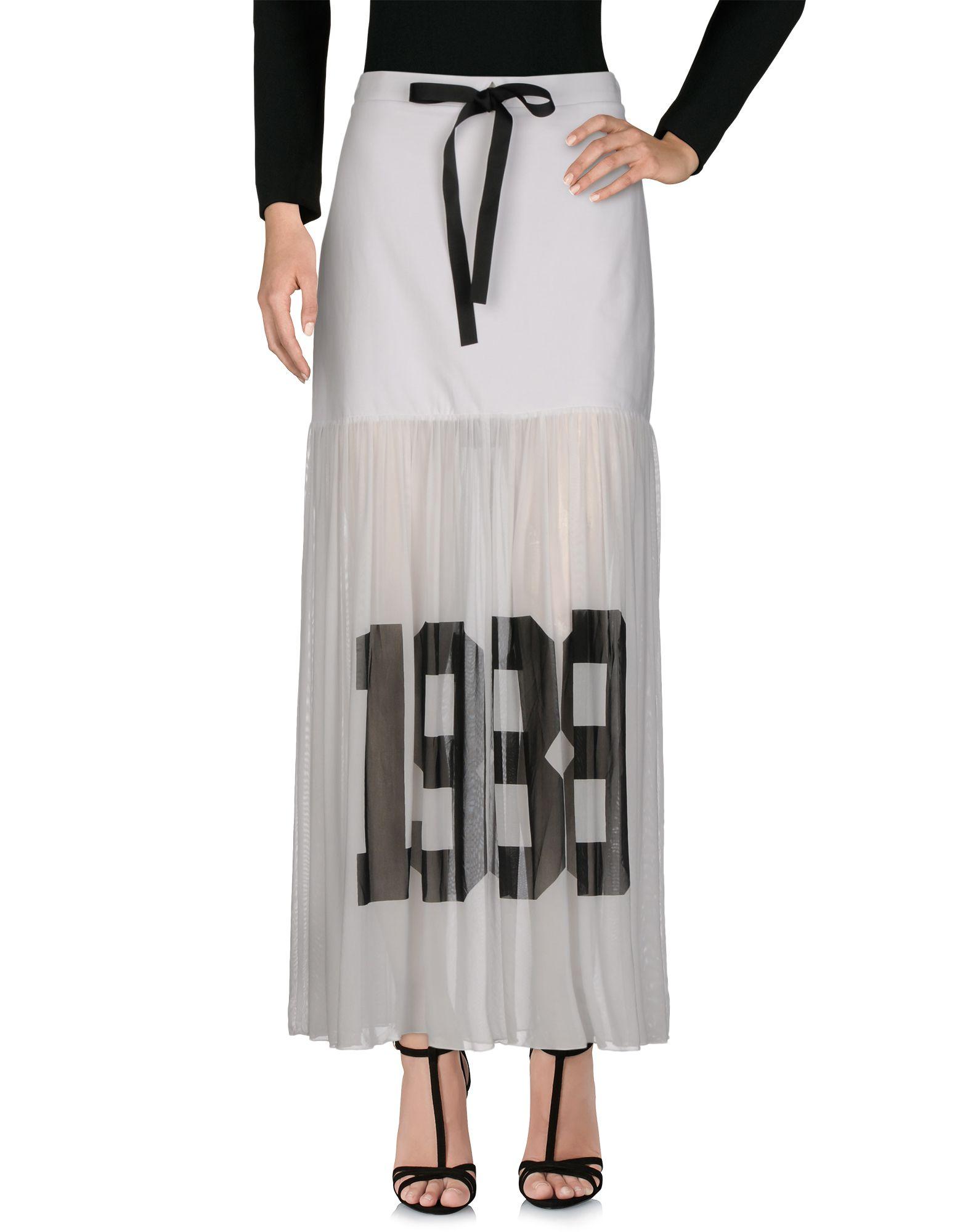 Фото - TWINSET Длинная юбка 12storeez юбка миди со складками спереди