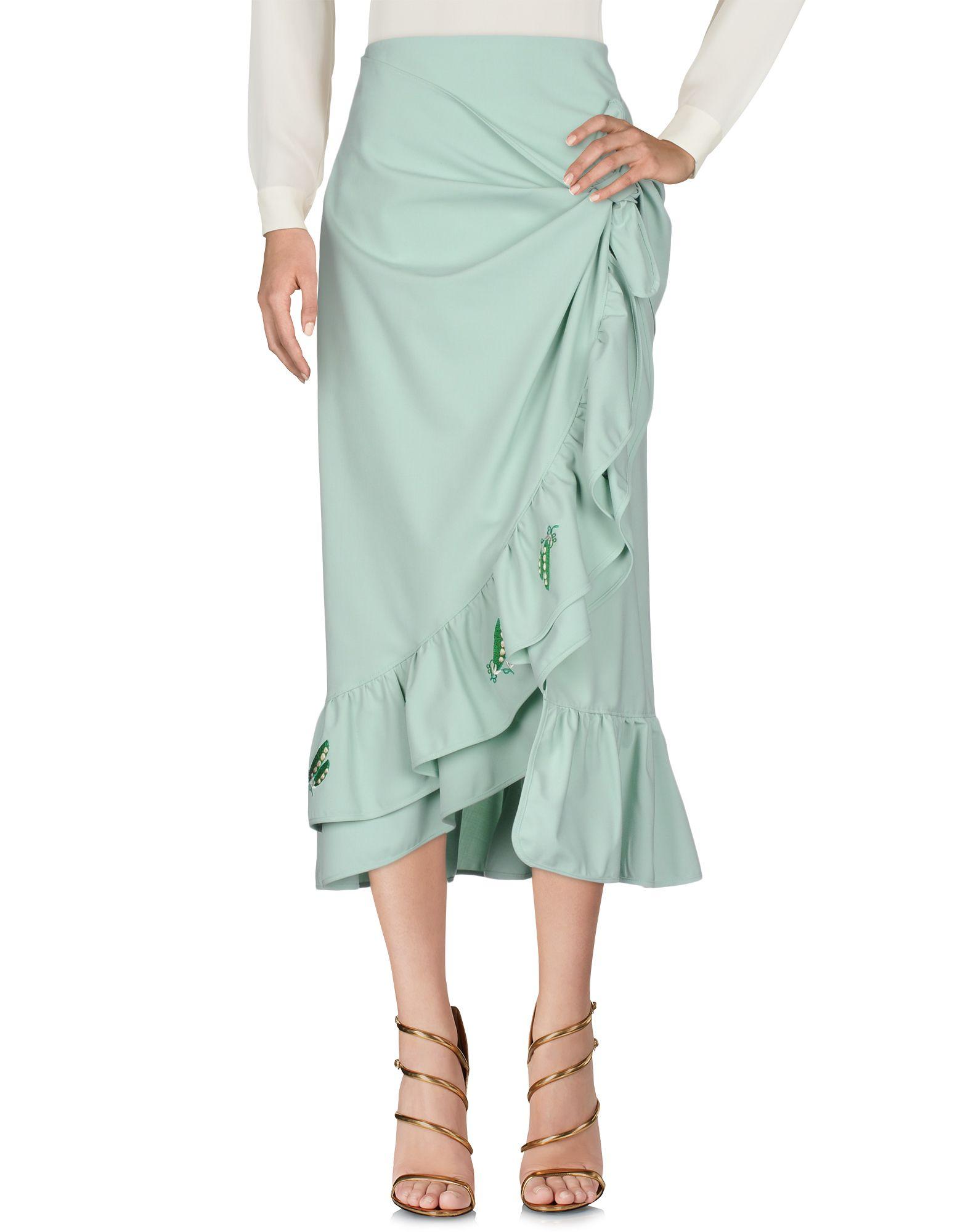VIVETTA Длинная юбка vivetta юбка длиной 3 4