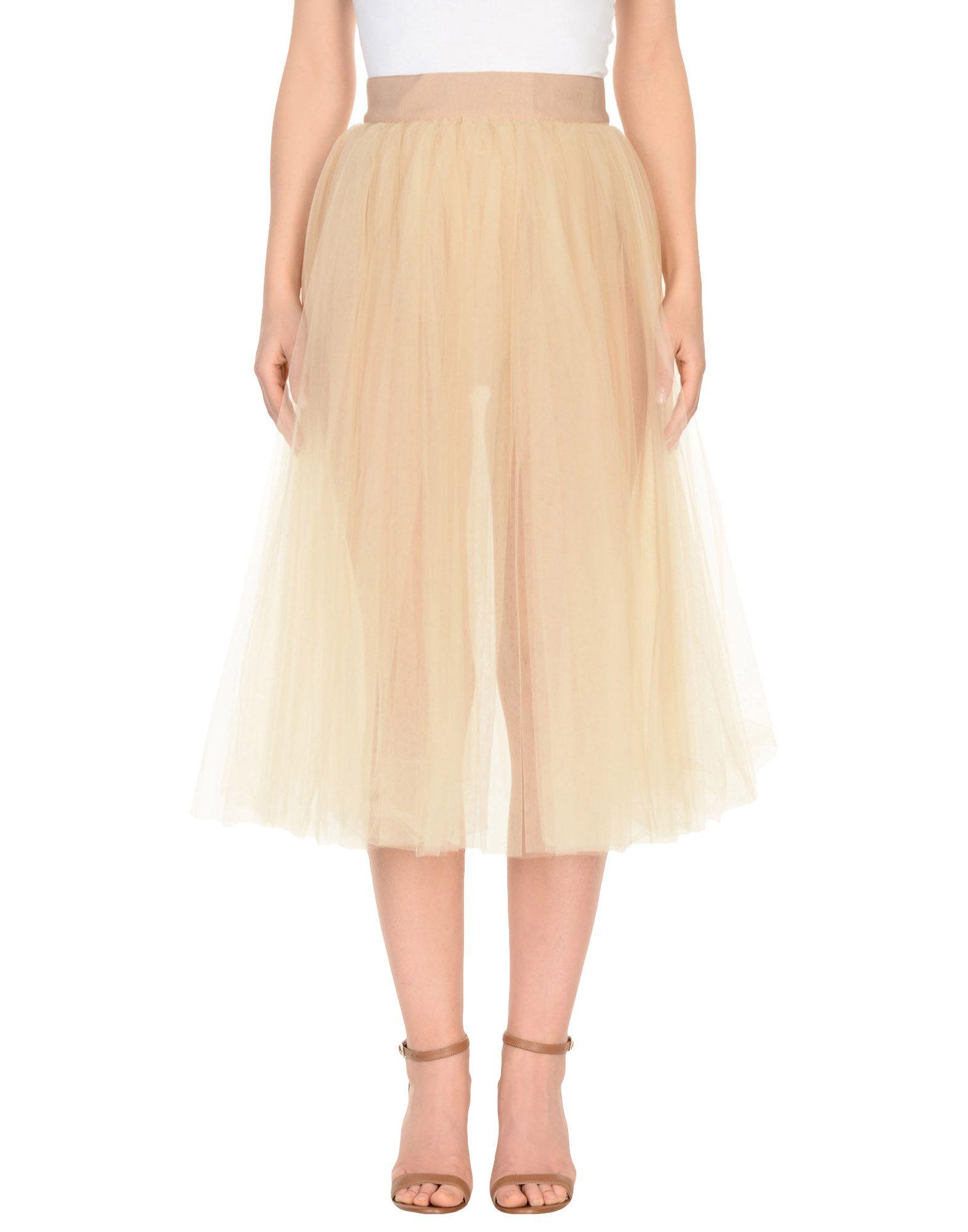 DOLCE & GABBANA | DOLCE & GABBANA 3/4 Length Skirts 35373990 | Goxip