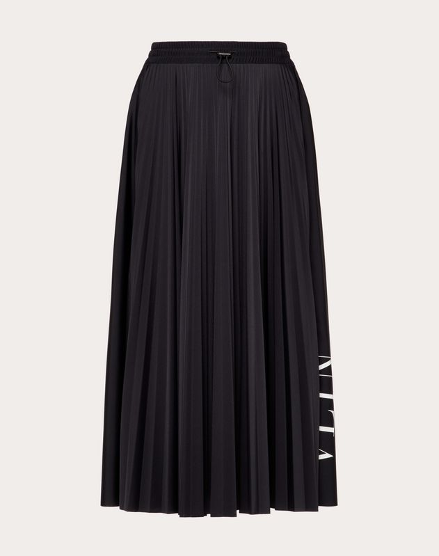 VLTN Pleated Skirt