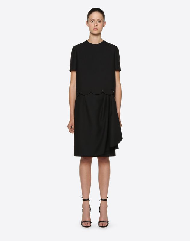 Crepe Couture Skirt