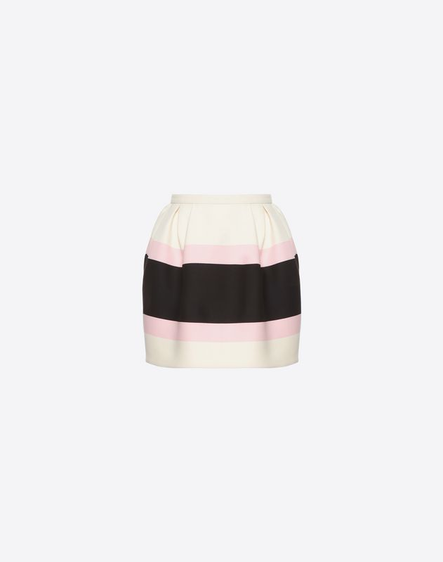 Macro Bayadère Mini Skirt