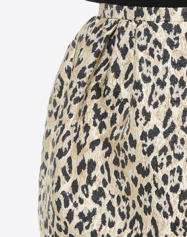 Wild Leopard Mini Skirt