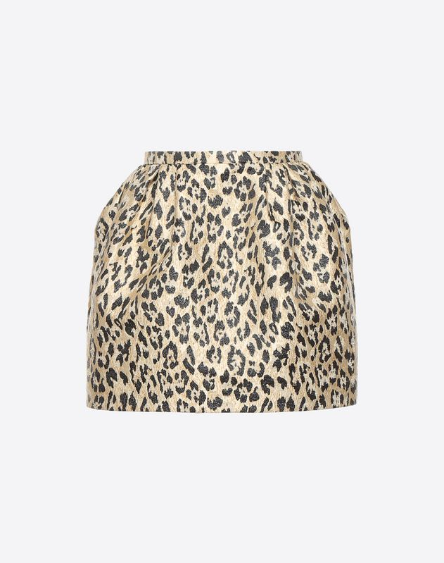 Wild Leopard Mini Skirt
