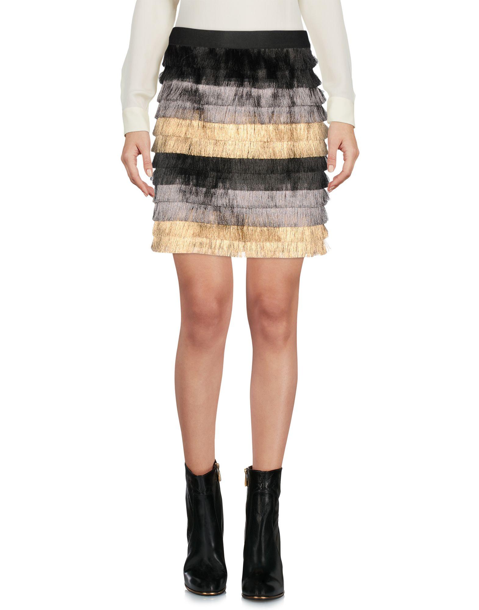 купить BCBGMAXAZRIA Мини-юбка по цене 9800 рублей