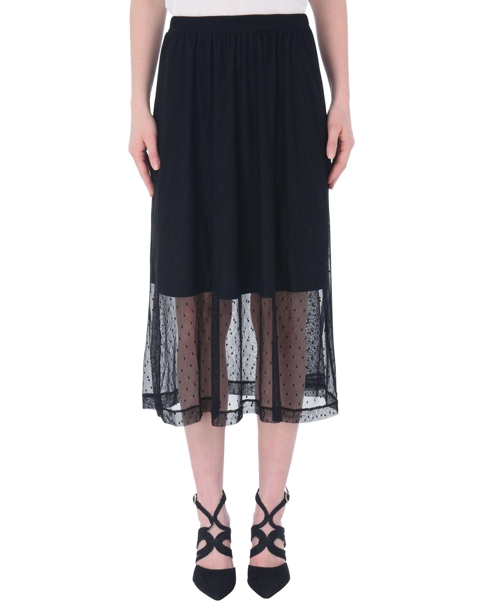 《送料無料》MOSS COPENHAGEN レディース 7分丈スカート ブラック XS ナイロン 100% Caradee Dot Skirt