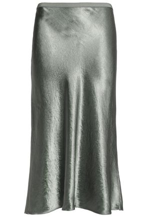 d4d304251e Satin midi skirt | VINCE. | Sale up to 70% off | THE OUTNET