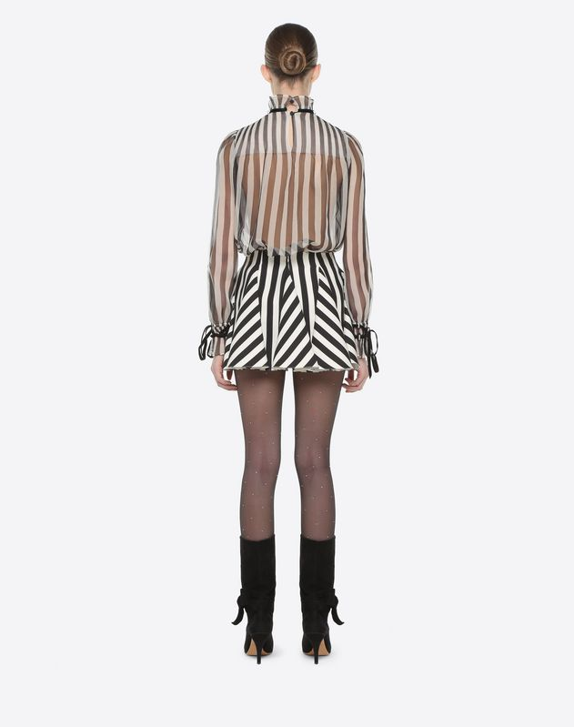 Stripes Re-edition Mini Skirt
