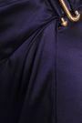ROBERTO CAVALLI Wrap-effect silk-blend satin maxi skirt
