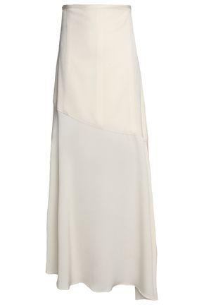 ELLERY Asymmetric crepe maxi skirt