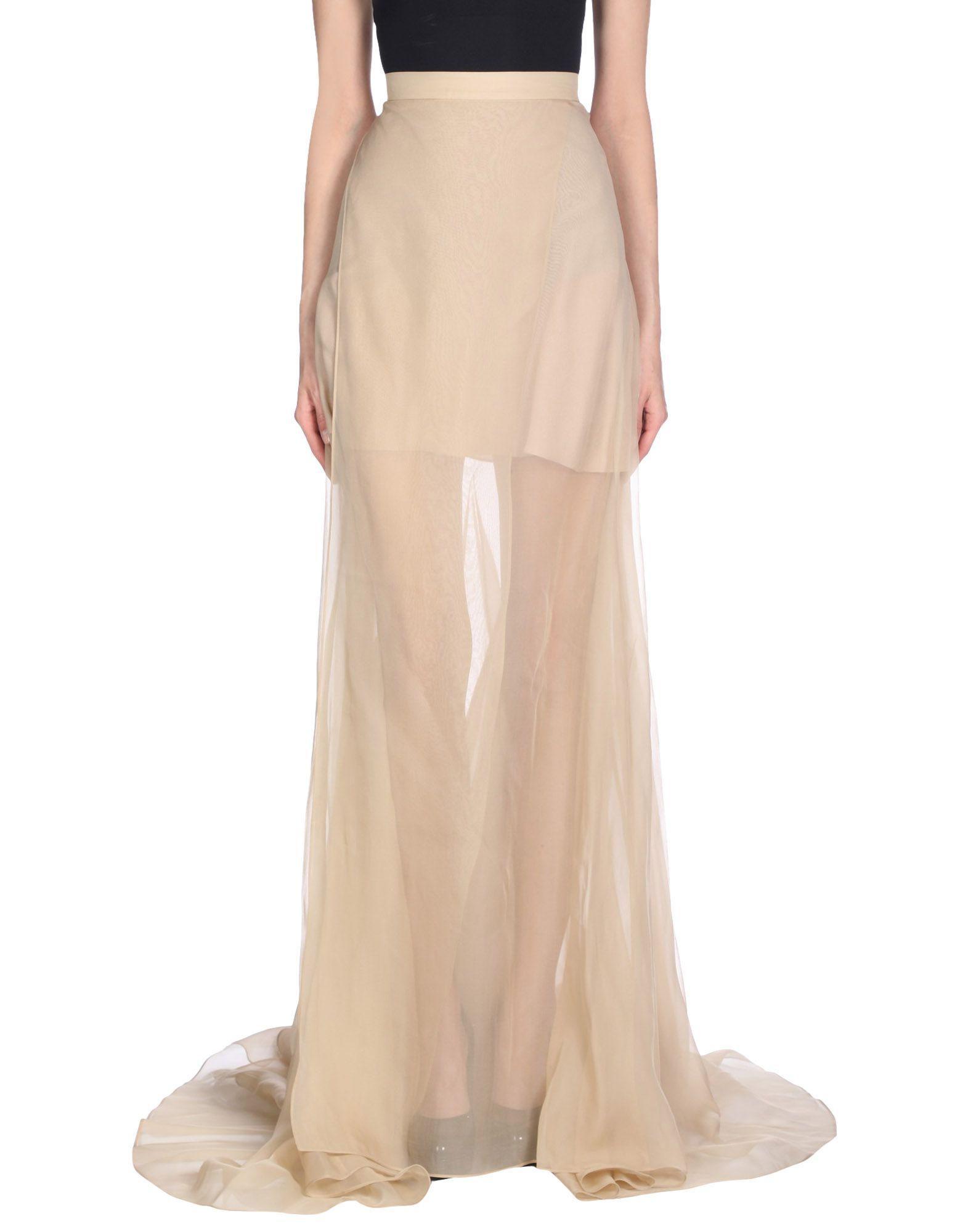 VIONNET Длинная юбка vionnet накидка