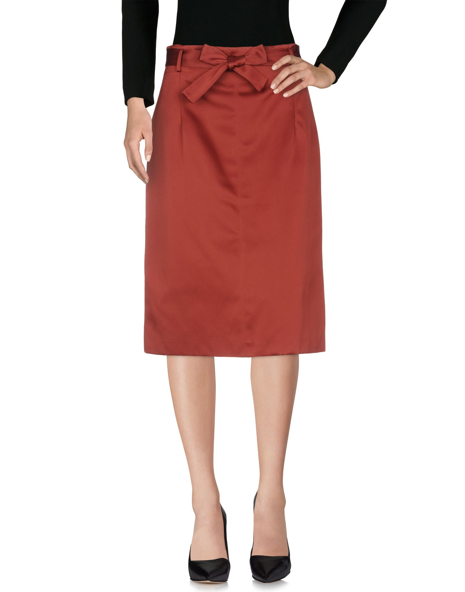OTTOD'AME Юбка длиной 3/4 moschino couture юбка длиной 3 4