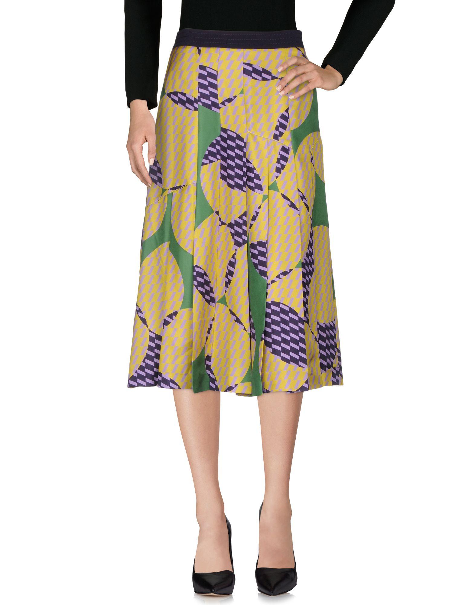 MANTÙ Юбка длиной 3/4 moschino couture юбка длиной 3 4