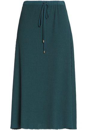 VANESSA SEWARD Ribbed-knit midi skirt