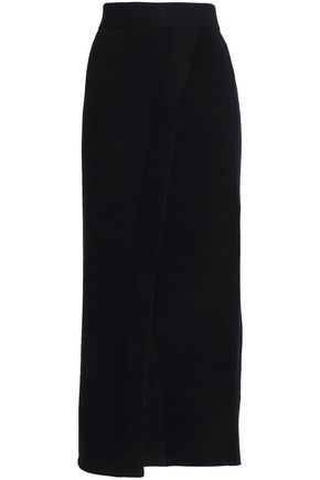 PRINGLE OF SCOTLAND Merino wool and cashmere-blend maxi skirt