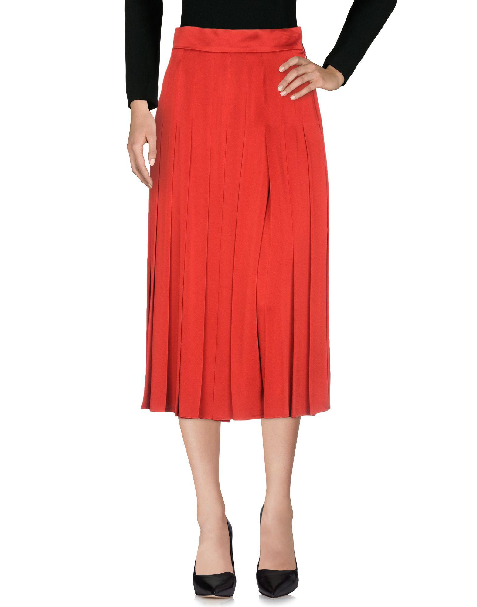 FENDI Юбка длиной 3/4 fendi юбка