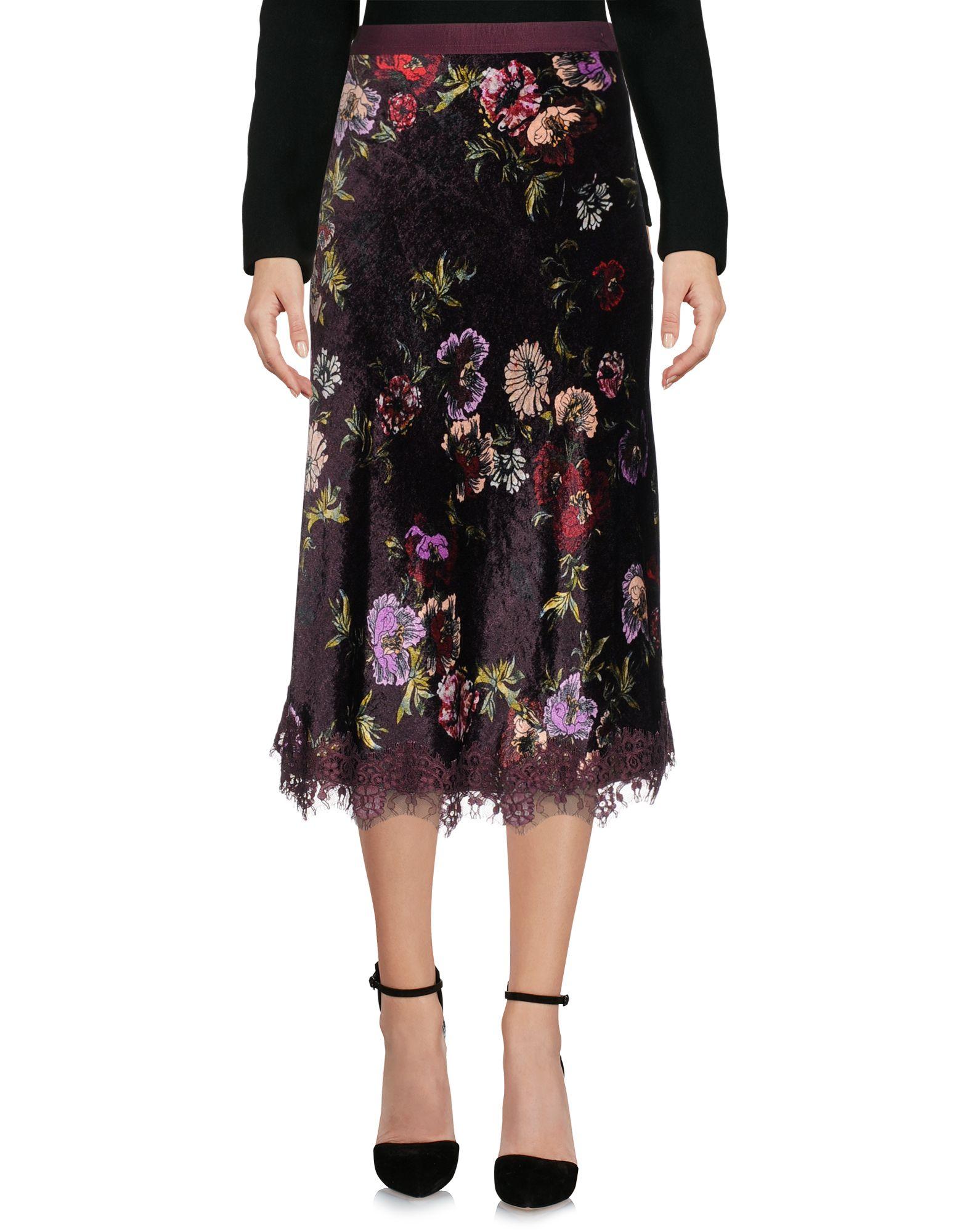 PINKO Damen Midirock2 violet