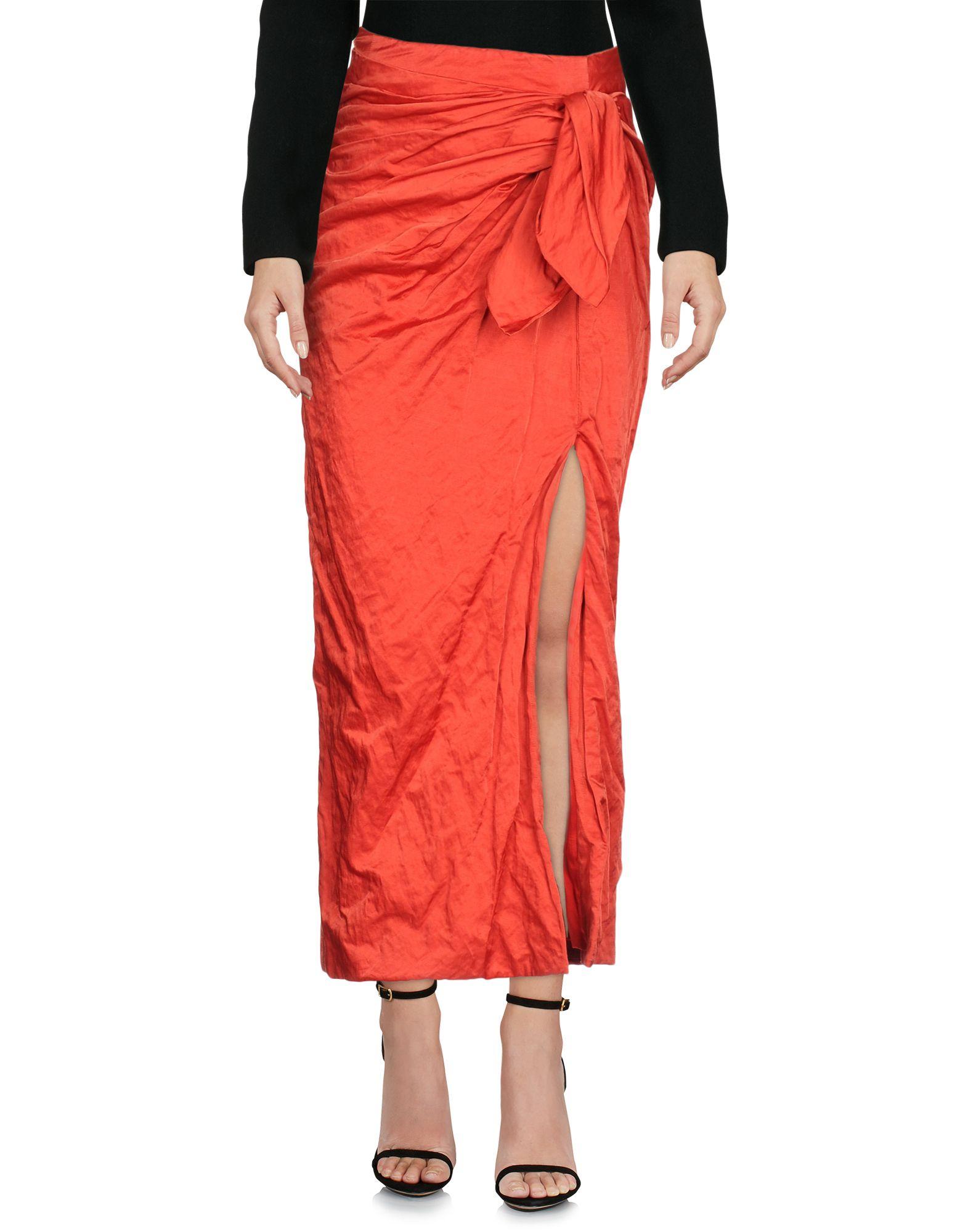 MONSE Длинная юбка scaglione city длинная юбка