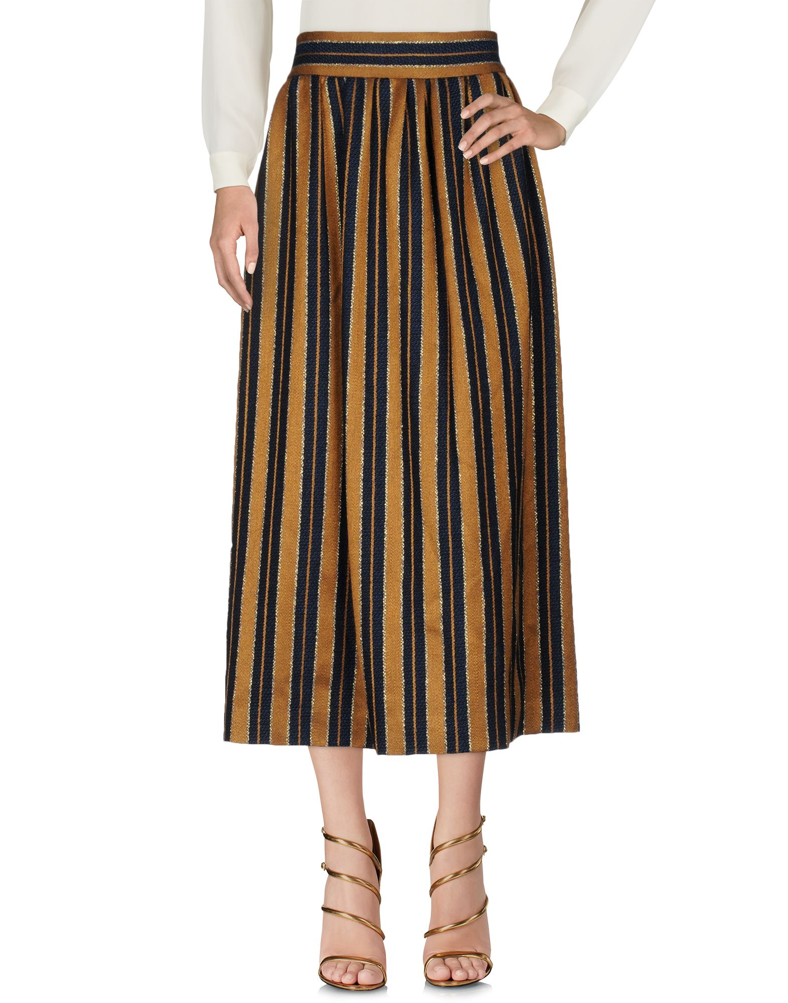 BY. BONNIE YOUNG Maxi Skirts in Ocher