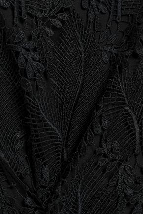DIANE VON FURSTENBERG Guipure lace midi skirt